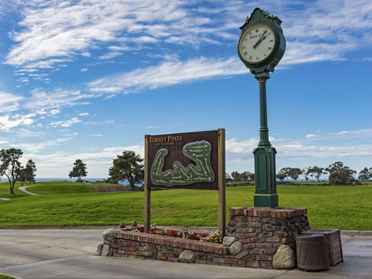 Rolex Uhr auf dem Golfplatz