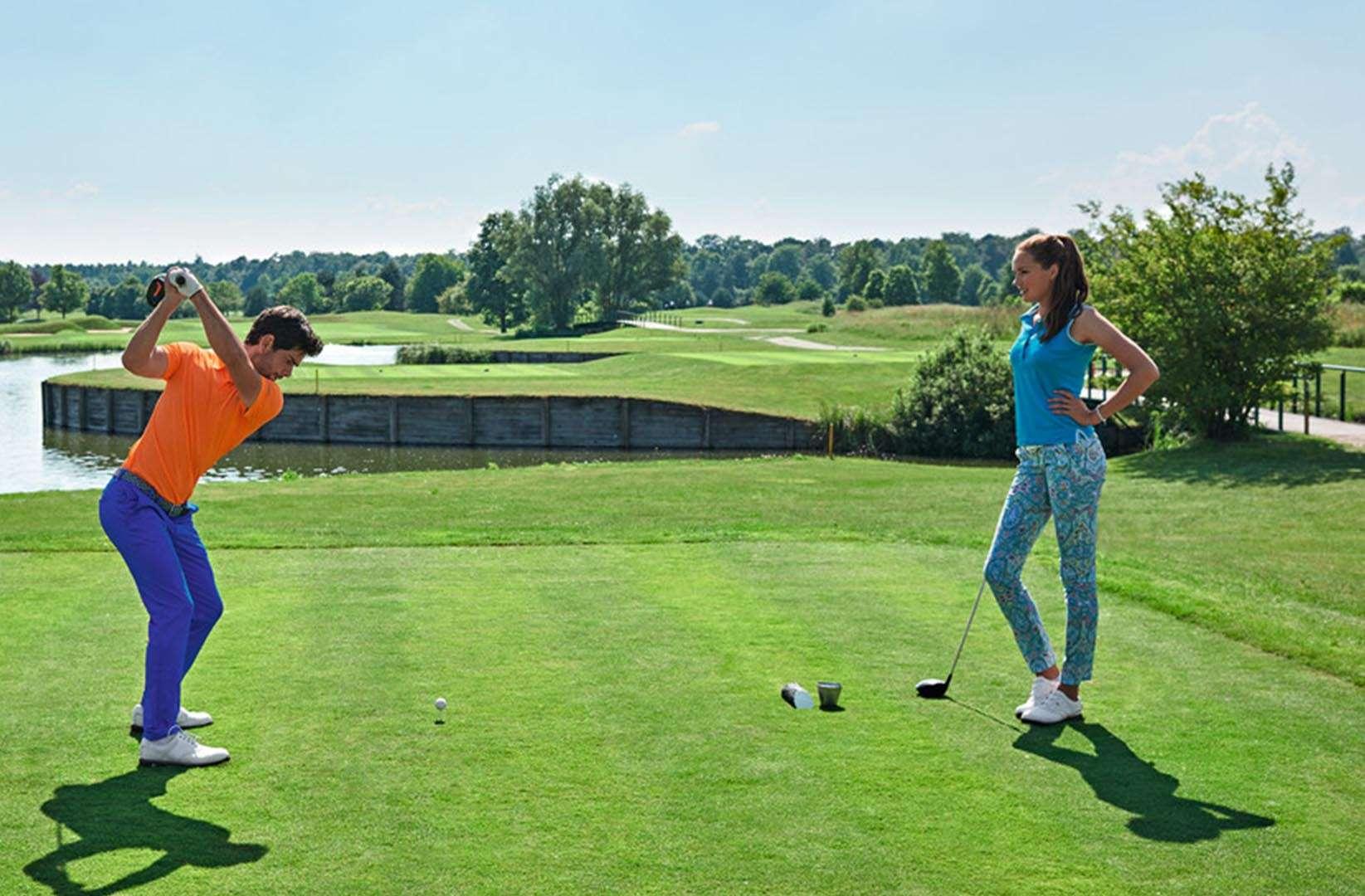 Alberto Golf Abschlag