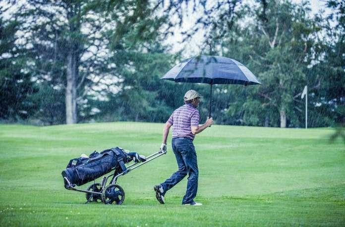Der richtige Golfschirm