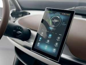 Garia Golf Car Touchpad