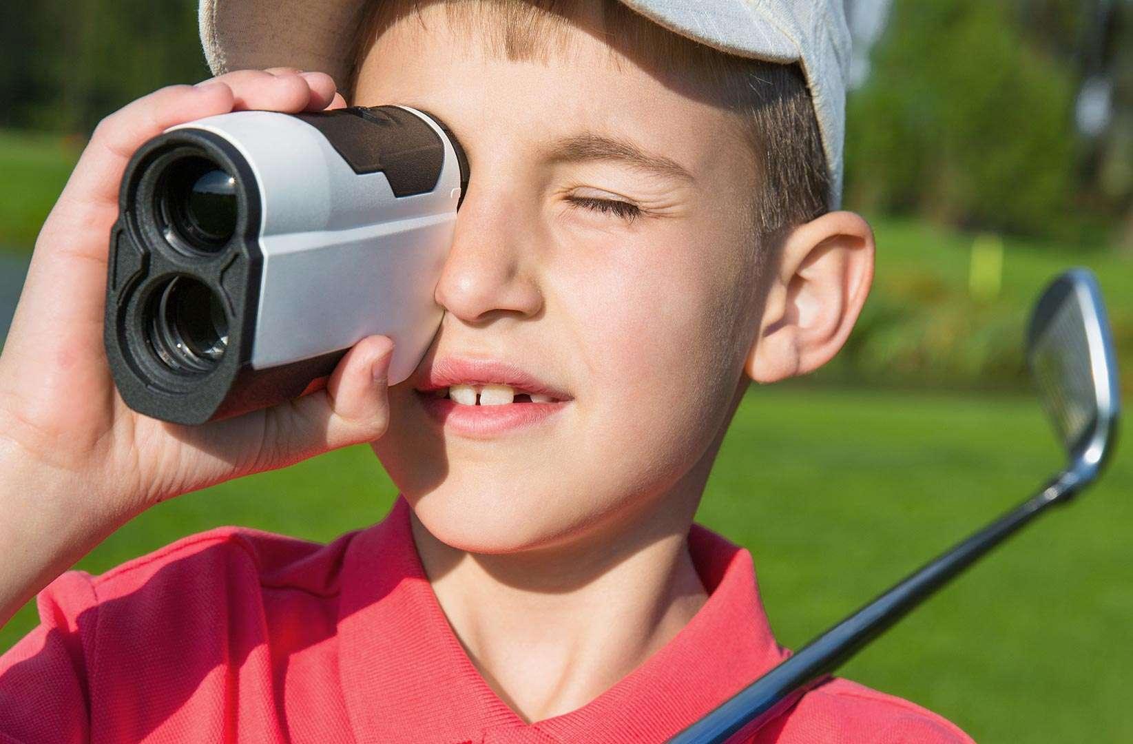 Golf-Laser Rangefinder