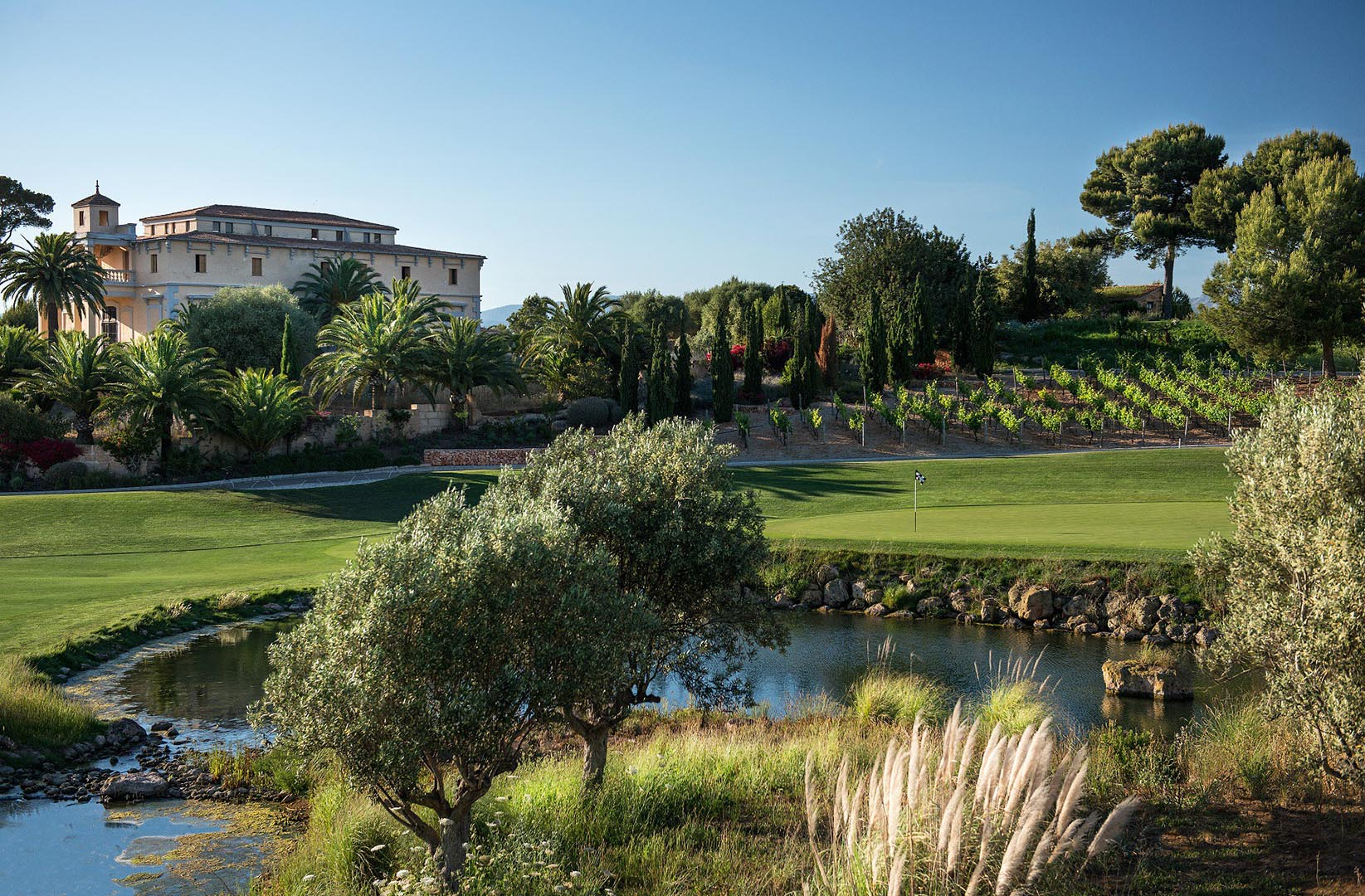 Golf Son Gual Kastell