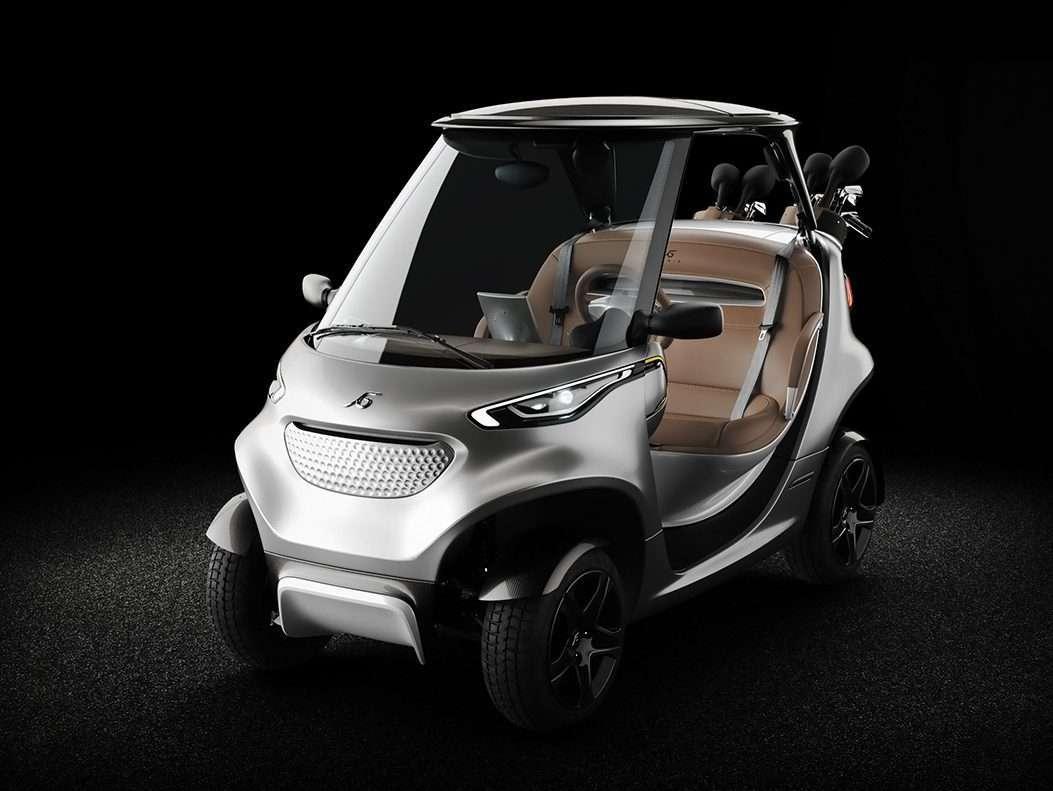 Garia Golf Car Front